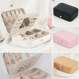 Wholesale Ring Necklace Bracelet Jewellery Display Box Storage Vintage Case Organiser