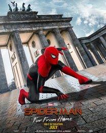 Großhandel Spider-Man: Weit weg von zu Hause Kunstdruck Poster 24x36inch (60x90cm) 083