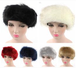 1a057dd843d65 Luxury Brand Russian Cossack Style Faux Fox Fur Headband for Women Hair  Band Femme Winter Earwarmer Earmuff Hat Ski