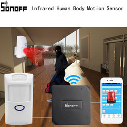 Discount motion cameras for home security - SONOFF CT60 PIR2 Wireless Infrared Human Motion Sensor Detector Human Body Motion Sensor for Smart Home Security Alarm