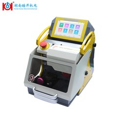 machine for cutting NZ - KUKAI High Security Key Machine For Key Decoder and Key Cut 2019 New Cutter Locksmith Tools Suppliers Duplicate Ten Language SGS CE FCC