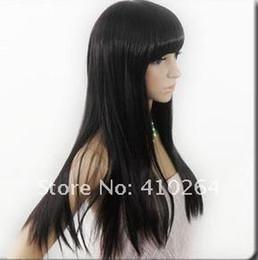 $enCountryForm.capitalKeyWord Australia - Fine free shipping women's New Long Black vogue Straight hair Wig wigs