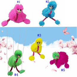 Doll hanDs online shopping - 5 Colors cm Decompression Toy Marionette Doll Muppets Animal Muppet Hand Puppets Toys Plush Ostrich Party Favor MMA2407