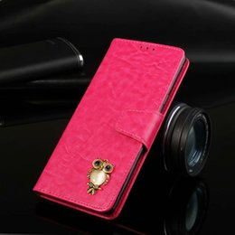 Iphone 5s Flip Case Magnetic Australia - Leather Magnetic owl Flip Wallet Case For iPhone X XR XS MAX 5 5s SE 5c 6 6s 7 8 Plus Phone Cover