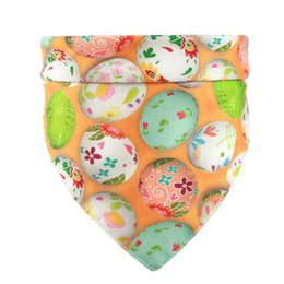 female dresses NZ - Pet Dog Bandana New Easter Pet Dogs Cats Dress Up Bibs Scarf Washable Polyester Puppy Kerchief Bow Tie Pet Grooming Accessories