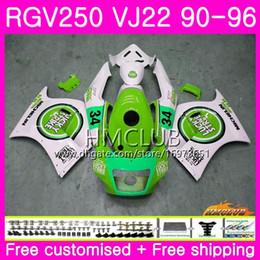 $enCountryForm.capitalKeyWord Australia - Bodys For SUZUKI SAPC RGV-250 VJ22 RGV 250 88 89 90 94 95 96 Lucky green 18HM.160 VJ21 RVG250 RGV250 1988 1989 1990 1994 1995 1996 Fairing