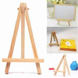 Pack Supplies Australia - 12PCS Kids Mini Wooden Easel Art Painting Name Card Stand Display Holder Drawing for School Student Artist Supplies, (12-Pack)