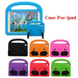 Tablet Stand For Kids Australia - 3D Cartoon Thomas Case Kids Safe Stand Shockproof Tablet Cover EVA Soft Stander For iPad 234 iPad Air iPad Mini 7 Colors