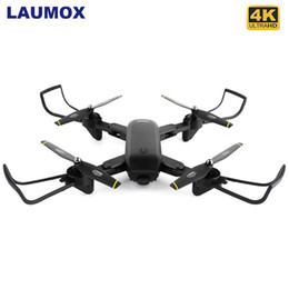 Dron camera hD online shopping - LAUMOX M70 RC Drone with Camera HD K p p Professional FPV Dron Foldable Quadcopter One Key Return Drones VS SG700 E58 T191016