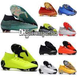 04d87d059cc Cr7 new shoes online shopping - 2019 New Mens Soccer Shoes CR7 Mercurial  Superfly VI Melhor