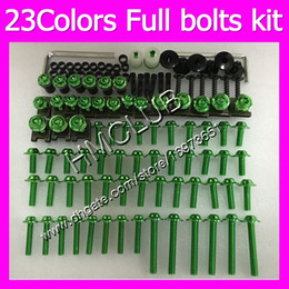 r6 bolt kit Canada - .Fairing screws Full bolts kit For YAMAHA R6 YZFR6 06 07 YZF-R6 06-07 YZF600 YZF 600 YZF R6 2006 2007 MC74 OEM Body Nuts bolt screw Nut kit