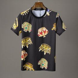 Korean Style Men T Shirts Australia - Summer New Pattern Man Style Short Sleeve designer luxury T-shirt Korean Edition Fashion Leisure Teenagers Up