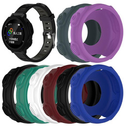$enCountryForm.capitalKeyWord Australia - 20pcs Light-weight Smart Protector Case Silicone Skin Protective Case Cover for Garmin Forerunner 235 735XT Sports Watch