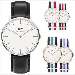 Men Thin Watches Sale Australia - Hot Sale Luxury Daniel W Men Watch for Women Montre Femme Brand Quartz Wrist Watch Women Casual Ultra Thin Ladies Male Watches Reloj Mujer