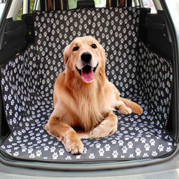 $enCountryForm.capitalKeyWord Australia - Pet Dog Trunk Cargo Liner Oxford Pet Car Seat Cover Car Seat Protector for Dogs Cats Waterproof Non-slip Dog Cover