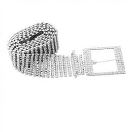 $enCountryForm.capitalKeyWord UK - Full Rhinestone Shiny Waistband Fashion Party Jewelry 10 Rows Women Party Dress Belt Chain for Women Dress
