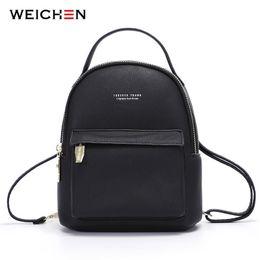 $enCountryForm.capitalKeyWord Australia - Weichen Multi-function Women Backpack Leather Fashion Small Backpack Female Ladies Shoulder Bag Girl Satchel Mini Mochila Purse MX190708