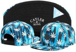 Snapback Caps For Sale Australia - hot sale CAYLER SONS leaf blue basketball baseball caps brands hip hop sun hat snapback hats for men and women TYMY 366