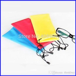 colourful mobiles NZ - Colourful Sunglasses Case Waterproof Soft Eyeglass Bag Mobile Phone MP4 Protective Bags 1000PCS 1209#09