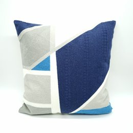 Discount direct cases - Fashion Embroidered Pillow Office Sofa Cushion Cover Home Cotton Pillow Case Factory Direct
