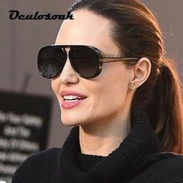 women stylish sunglasses Australia - 2019 New Fashion Vintage Round Stylish Color Lens Sunglasses Men Women Brand Designer Sun Glasses Oculos De Sol Uv400