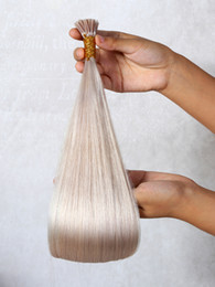 Brazilian Prebonded Hair Australia - Best 10A Natural Keratin Capsule Prebonded I Tip Hair Extension flat tip hairBrazilian Virgin Hairs 18 inches Straight Human Hair Weave