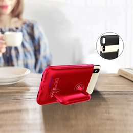 $enCountryForm.capitalKeyWord NZ - Mobile phone case for iphone 6 plus 6s plus 7 plus 8 plus 4200mah charging treasure new mobile phone case with power bank