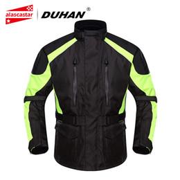 $enCountryForm.capitalKeyWord Australia - DUHAN Motorcycle Jacket Men Waterproof Moto Jacket Racing Rain Coat Clothing Touring Motorbike Riding Protective Gear
