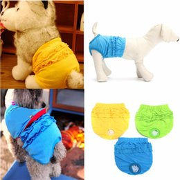 $enCountryForm.capitalKeyWord Australia - Cute Pet Dog Panty Brief Sanitary Pants Pet Dog Cloth Diapers Cotton Short Pants Underwear For Female Dogs Pets