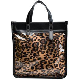 tiger tote bags 2019 - Hot Large-capacity Leopard Big Tote Bag For Women Fashion Tiger-grain Crossbody Lady Handbags And Purses Drop Shopping L