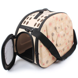 $enCountryForm.capitalKeyWord Australia - Travel Pet Dog Carrier Puppy Cat Carrying Outdoor Bags for Small Dogs Shoulder Bag Soft Pets Dog Kennel Pet Products 3 Colors