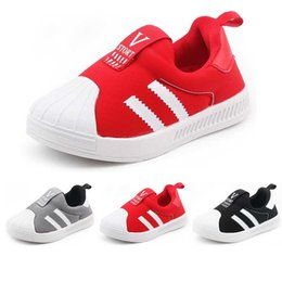 $enCountryForm.capitalKeyWord Australia - Baby Shoes Kids Designer Shoes Boys Girl Toddler Sport Running Shoes Infant Soft Sole Comfortable Sneakers Fashion Hot Sale Newborn Trainers