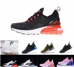 pretty nice 31bd0 031a6 2019 Top Women Nike Air Max airmax AIRMAX 270 27C Teal chaussures de plein  air 2 étoiles Flair Triple Pink blanc bleu 27C Trainer Sports Shoe 27S  Running ...