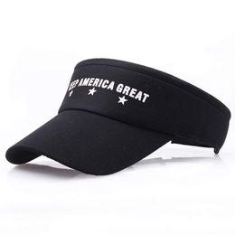 Keep America Great Sun Visor Cap 2020 Trump Visors with Stars Adjustable  Golf Tennis Hat Outdoor Sports Visor Cap SSA312 d69e4f69fdb6
