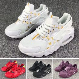 air huarache shoes Australia - Flash Lighted Kids Air Huarache Run Shoes Children running shoes Infant huaraches outdoor toddler athletic boy & girls sneaker