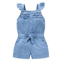 Cute girls jeans online shopping - Summer Girl Clothing Jumpsuit Cute Sweet Washed Jeans Denim Bodysuit Jumpsuits Straps Short Pants Cowboy Comfortable