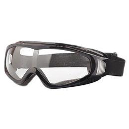 17495741d Óculos de Airsoft Tactical Paintball Óculos Claros Wind Dust Protection  Motorcycle, Preto # 200824