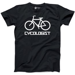 $enCountryForm.capitalKeyWord Australia - Cycologist T-shirt Funny Pedal Eco Friendly Cycle Bike Love Bicycle Rider Tee New Tee Printsummer Hot Sale