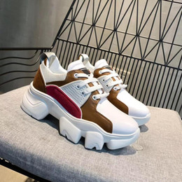 $enCountryForm.capitalKeyWord Canada - France Luxury Genuine Leather womans mans Casual Breathable Couple shoes Thick bottom Lace-Up Couple Shoes Fashion mans Casual sport shoes