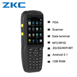 collector data Australia - Rugged android data collector QR code barcode scanner android handheld pda with 3G WIFI Bluetooth NFC Keyboard and touch screen