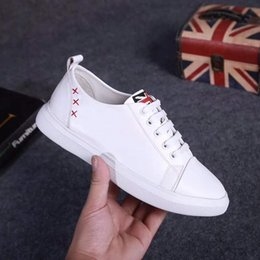 $enCountryForm.capitalKeyWord Australia - Fast Delivery Fashion Spring Autumn Women White Casual Shoes Female Soft Genuine Leather Girls Comfortable Round Toe Lace Up Woman Shoes