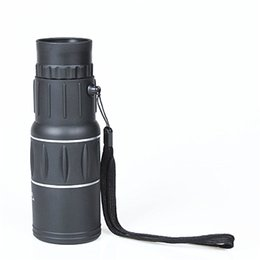 tactical telescope Canada - Single telescope mobile telescope 16X52 HD telescope Exercise outdoors Tactical Accessories The view, the remote view of the animals OTC001