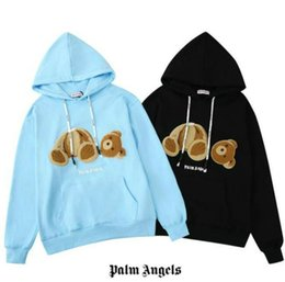Wholesale fashion sweatshirts for women for sale – custom Palm Angels Mens Hoodies Bear Autumn Brand Hoodie For Men Sweatshirt Women Mens Hoodies Top Clothing