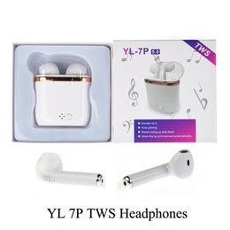 $enCountryForm.capitalKeyWord NZ - YL-7P TWS Wireless Bluetooth Earbuds Earphones With Charger Box Double V5.0 Stereo Wireless Ear buds Headset Headphones For iOS Android