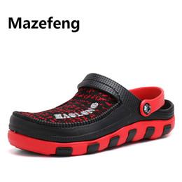 $enCountryForm.capitalKeyWord Australia - 2019 Clogs Men Beach Slippers Summer Rubber Sandals Hole Shoes Mules Flip Flops Pantufas Chinelos Garden Fashion Zapatos Hombre
