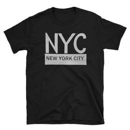 China New York City shirt Men's NYC Shirt short sleeve printed Black Size S M L XL tee Top Free Shipping T-shirt jacket croatia leather tshirt supplier jacket new york suppliers