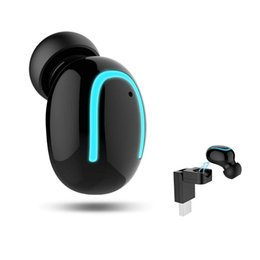 headphone bluetooth charger 2019 - HBQ Bluetooth Headphone Wireless Sport Earbuds With Wireless USB Charger V4.1 Mini Bluetooth Earphone Earpiece Invisible