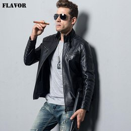 $enCountryForm.capitalKeyWord NZ - Pop 2019 Men's Genuine Sheepskin Leather Jacket Motorcycle Coat Male Lambskin Real Leather Bomber Jacket