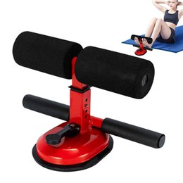 Vente en gros 2020 Sit Up Floor Bar assistant abdominale exercice stand cheville soutien entraînement Matériel d'entraînement pour Home Gym Fitness vitesse Voyage