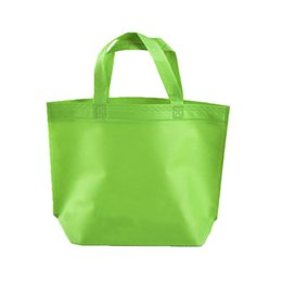 $enCountryForm.capitalKeyWord UK - 2019 New Nonwoven Shopping Bag Eco-friendly Folding Reusable Portable Shoulder Handbag Polyester for Travel Grocery Bags